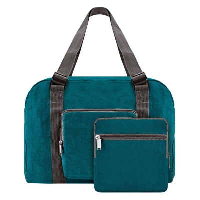 Travel Bag S05-055FOL-13 - TURQUOISE