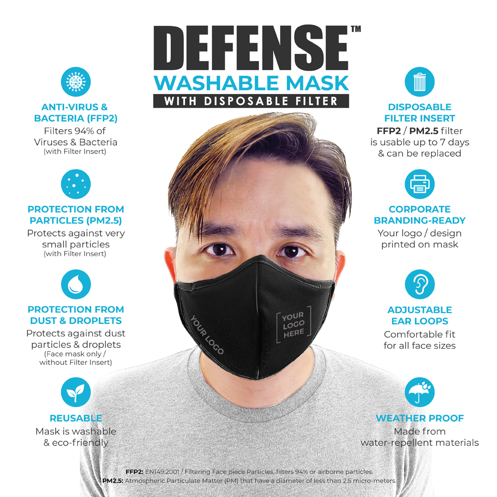 DEFENSE Face Mask